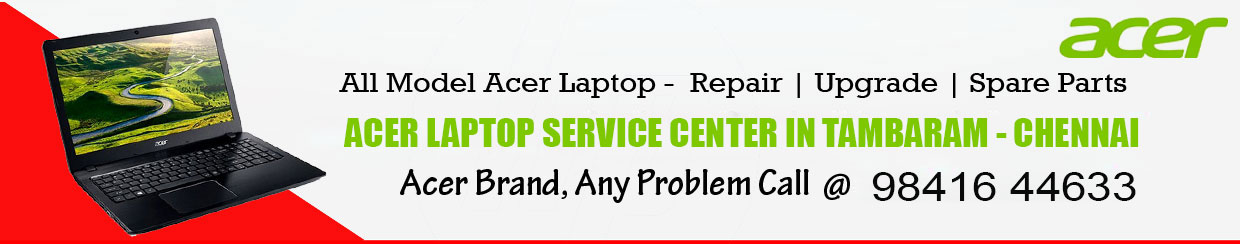 Acer Laptop Service Center in Tambaram